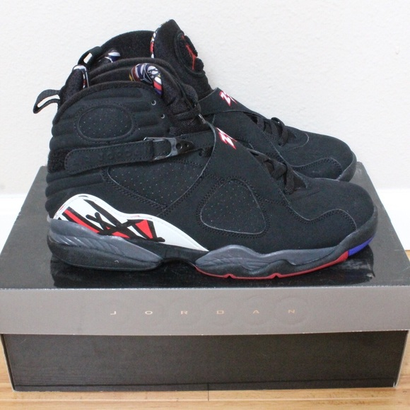 6a9ce2c811be Nike Men s Air Jordan 8 Retro - Blk Red (Size 11)